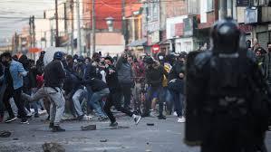 Colombia en  escalada de tensión y violencia