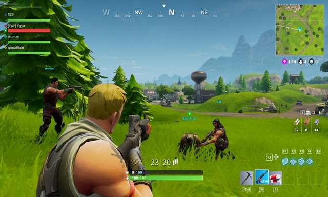 Download Game Fortnite Battle Royale MOD APK Versi 7.0