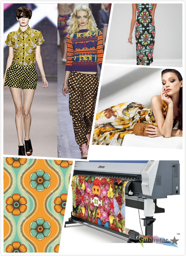 Sublimation Digital Textile Printing