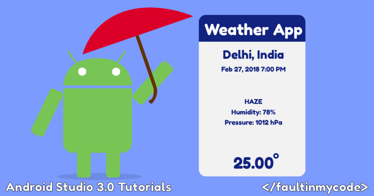Open Weather Map Api Example Create Android Weather App