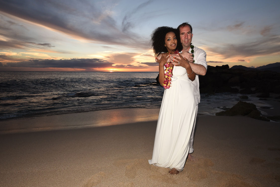 Ko Olina Beach Weddings: Sunset Photos - photo#36