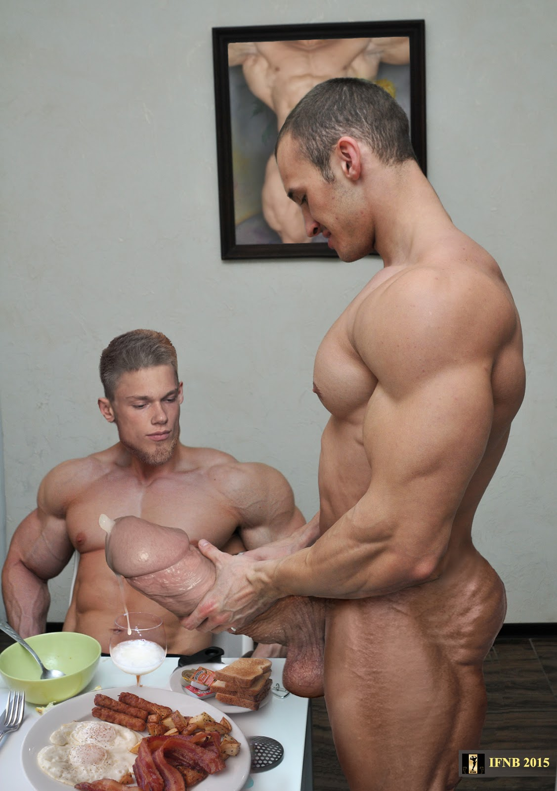Muscular gay bodybuilder blog
