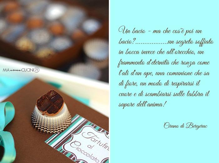 tartufino al cioccolato