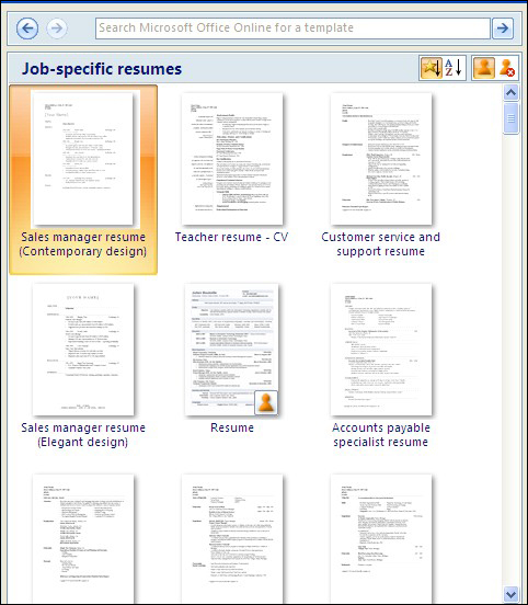how to make resume on microsoft word 2007 - Canasbergdorfbib