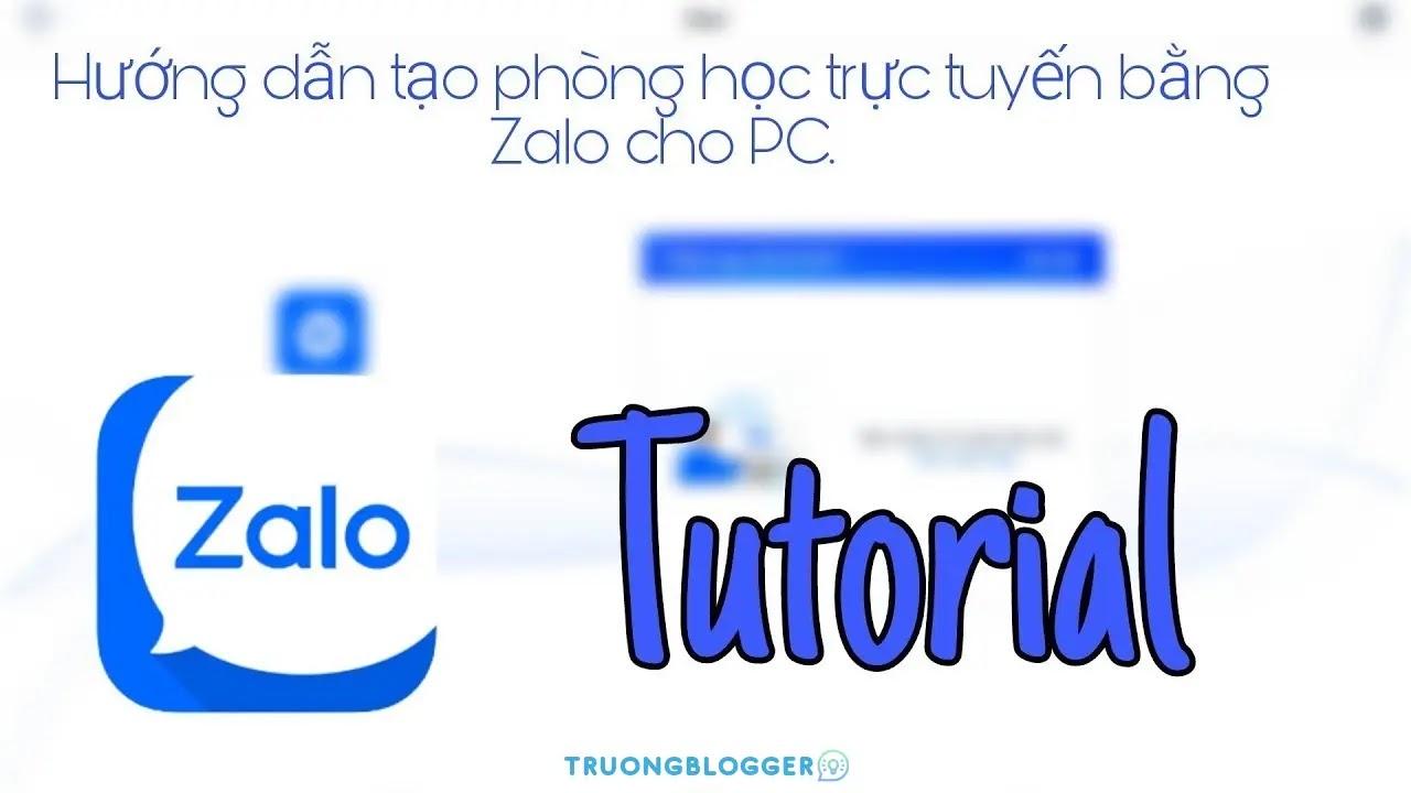 Hướng dẫn dùng Zalo PC dạy học online miễn phí, tiện lợi