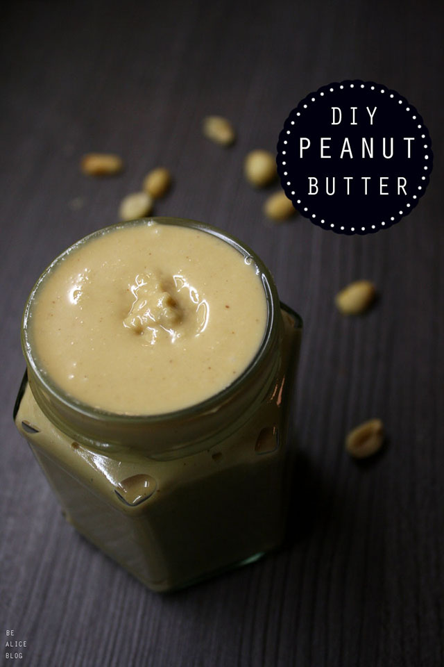 homemade peanut butter, recipe, snack, vegan, gluten-free