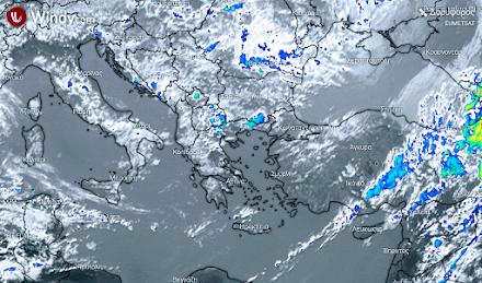 Ηλιοφάνεια σε όλη σχεδόν τη χώρα - Λίγες τοπικές βροχές στα δυτικά και βόρεια τις θερμές ώρες της ημέρας