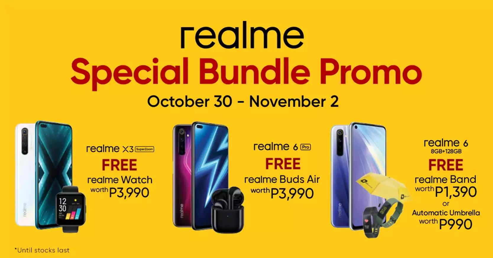 realme Special Bundle promo
