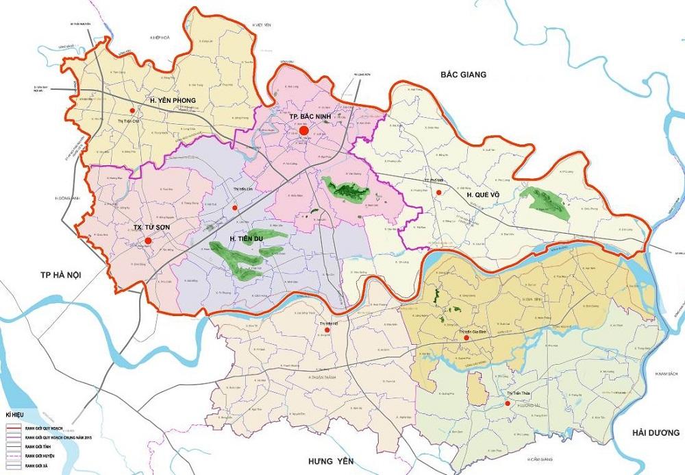 Vị trí đô thị trung tâm của Bắc Ninh khi lên thành phố trực thuộc trung ương