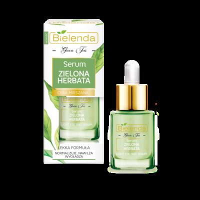 Bielenda serum do twarzy zielona herbata