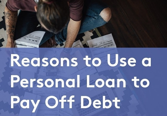 pay off debt with personal loan