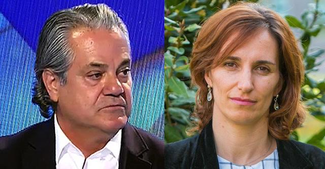 Marcos de Quinto y Mónica García