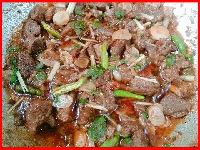 Restaurant Style Garlic Beef Recipe