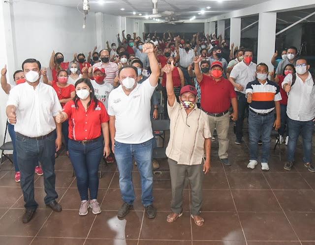 Defenderemos la candidatura de William Pérez Cabrera ante las instancias correspondientes: PRI