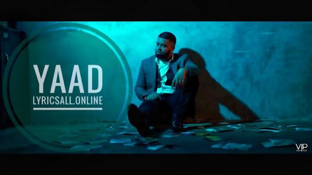Yaad lyrics by ezu