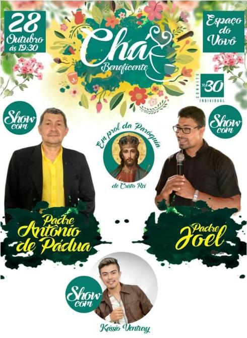 Em Chapadinha   'Chá Beneficente' em Prol da 'Paróquia de Cristo Rei', Acontece Neste Sábado (28)