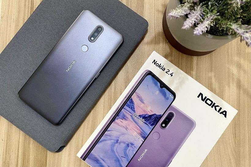 Nokia 2.4 Unboxing