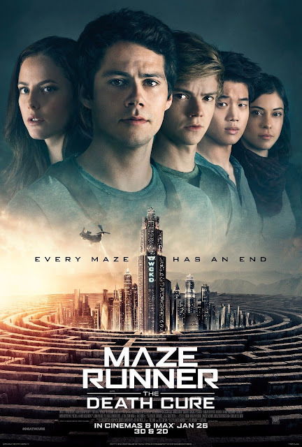 movie poster for Maze Runner Death Cure found on google