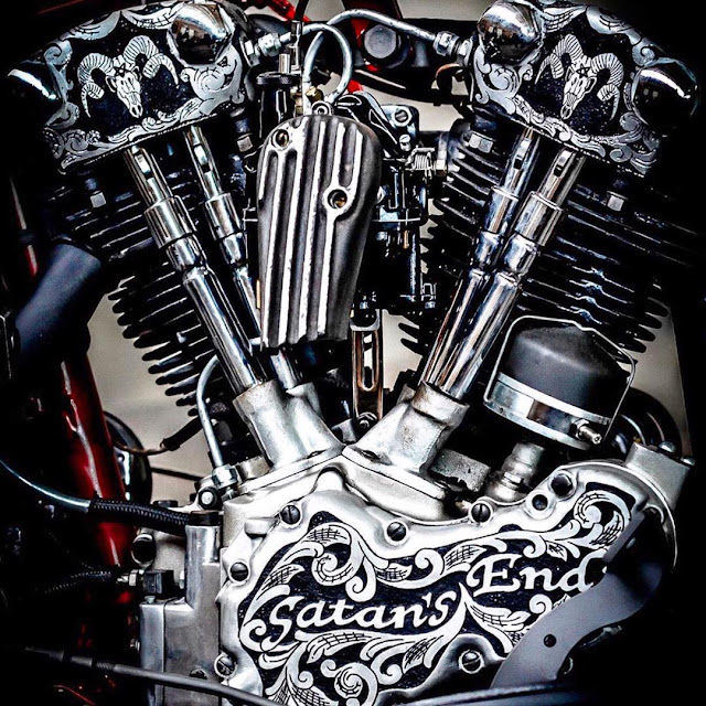 Harley Davidson Knucklehead By Four Speed Mayhem Hell Kustom