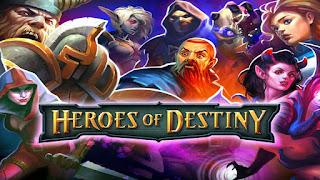 game Moba Android terbaik terpopuler - Heroes of Destiny