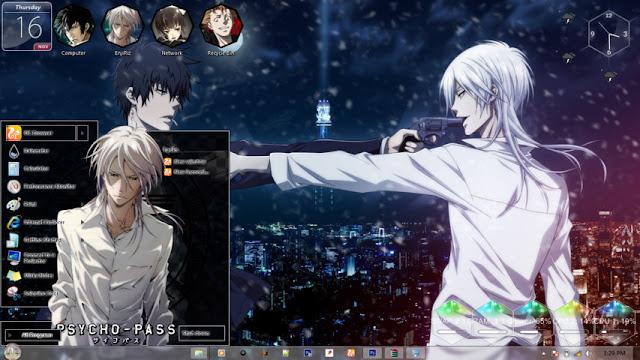 Psycho-Pass Theme Win 7 by Enji Riz Lazuardi