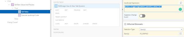 Oracle APEX Tutorial - Preview Blob Column In New Tab Dynamic in Oracle APEX