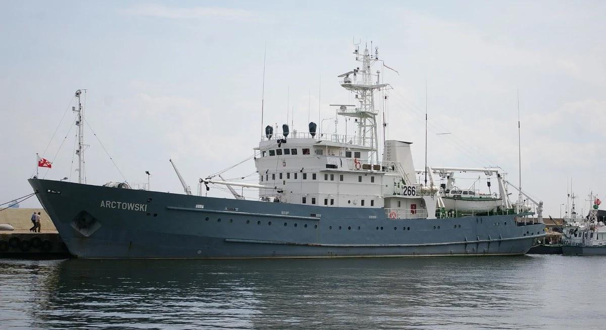Польський штабний корабель повернувся в стрій після ремонту