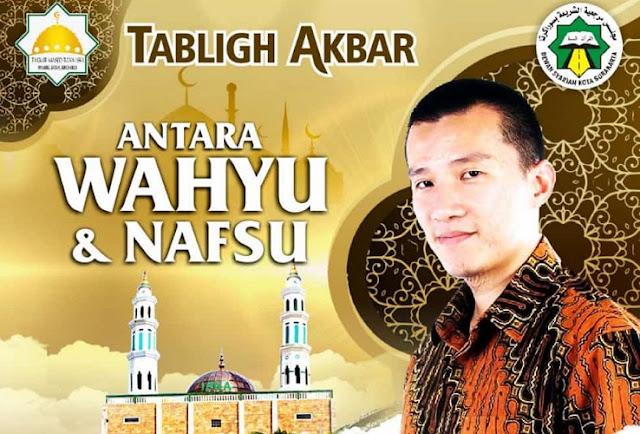Pagi Ini, Ustadz Felix Siauw Gelar Tabligh Akbar Di Kota Solo