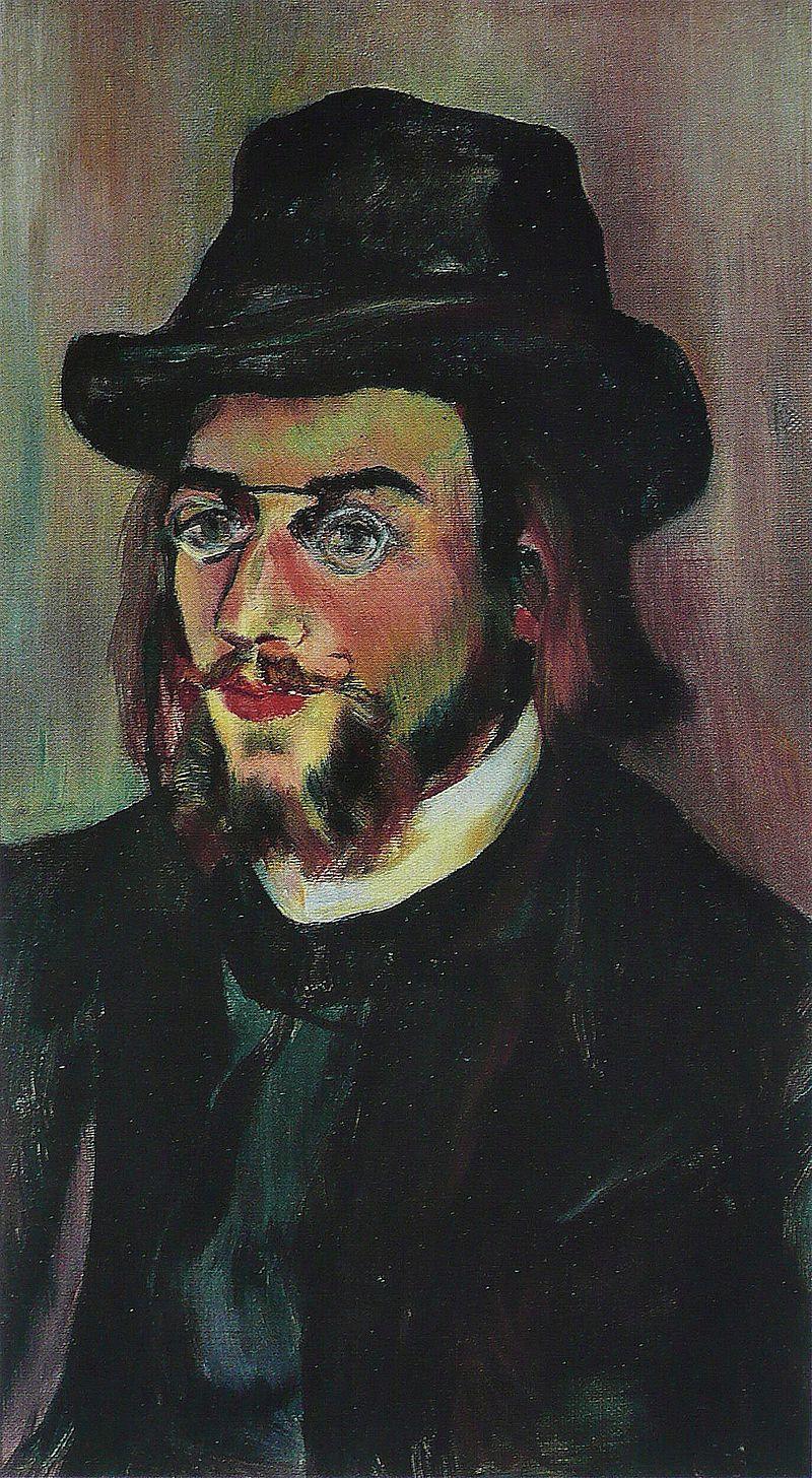 The portrait of Erik Satie