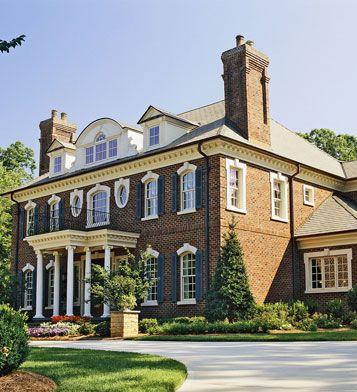 10 contoh rumah tingkat dua mewah tampak dari depan