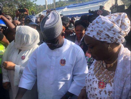 Photo: Governor Bello casts his vote