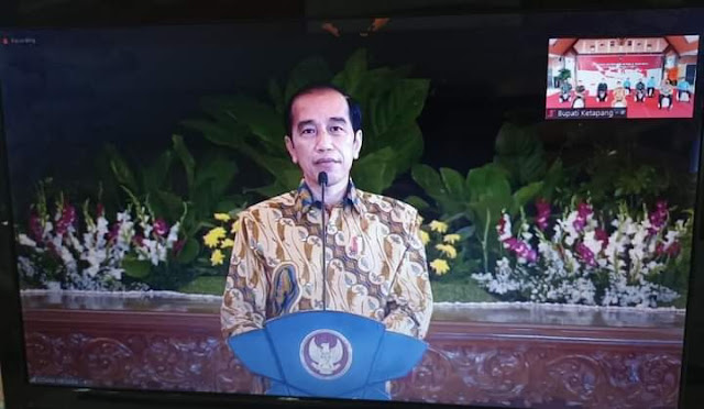 Wabup Ketapang Ikuti Zoom Meeting Pengarahan Presiden Jokowi Kepada Kepala Daerah Se-Indonesia