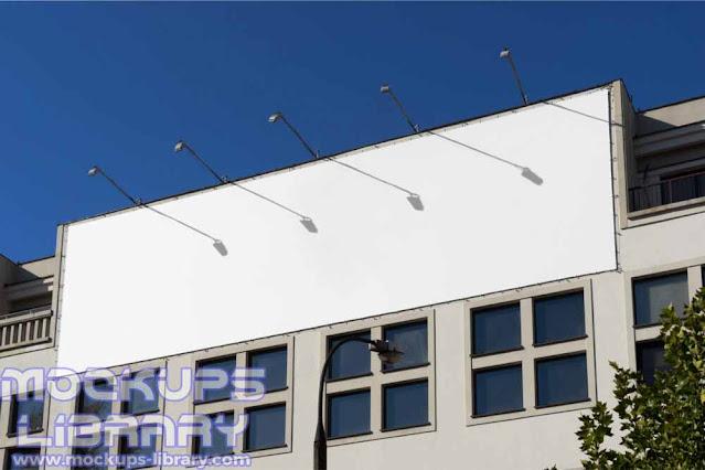 building billboard mockup psd