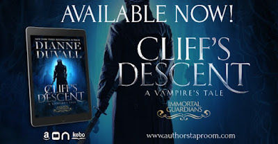 Release Day:  Cliff's Descent by Dianne Duvall