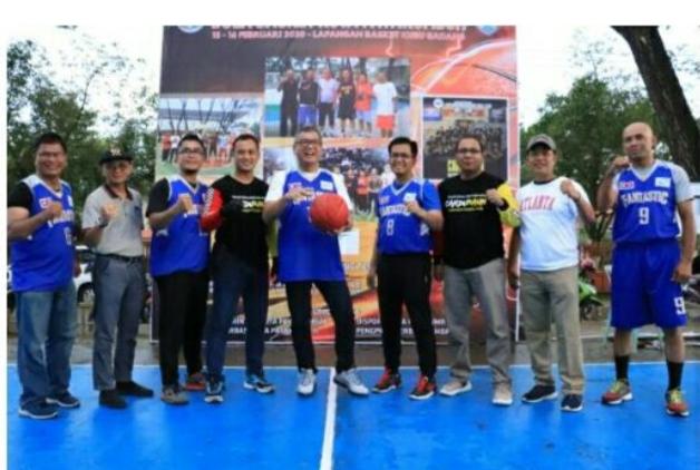 Wako Riza Buka Iven Basket Eksekutif Sumbar-Riau