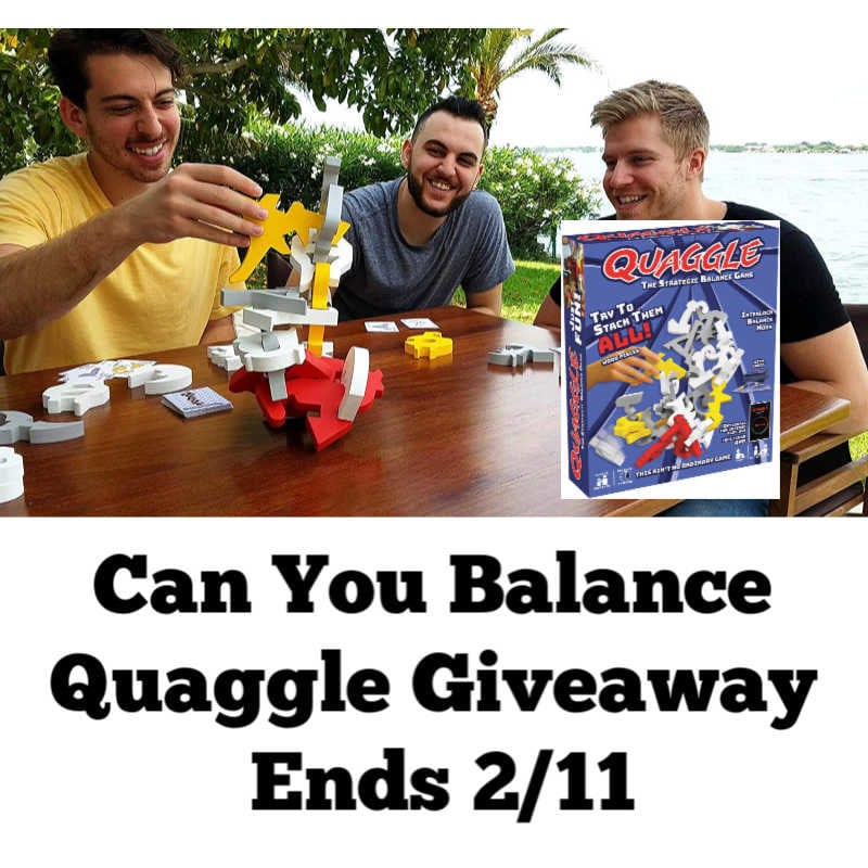 Can You Balance Quaggle Giveaway
