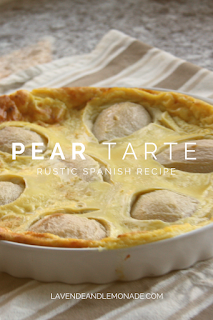 Rustic Spanish Pear Tarte - The perfect summer dessert!