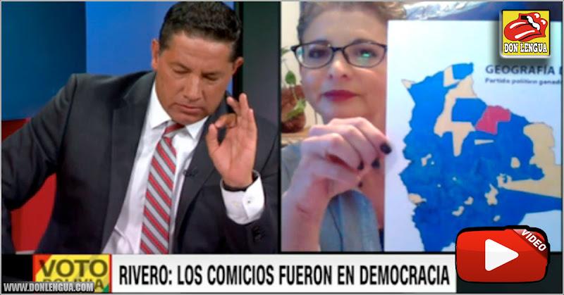 Diputada boliviana se enfrentó a Fernando del Rincón y evita responder las preguntas más básicas