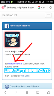 TUTORIAL TO ENABLE BOT AUTO REACTION / BOT LIKE FACEBOOK