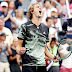 Tennis: Zverev makes US Open last 16 for first time