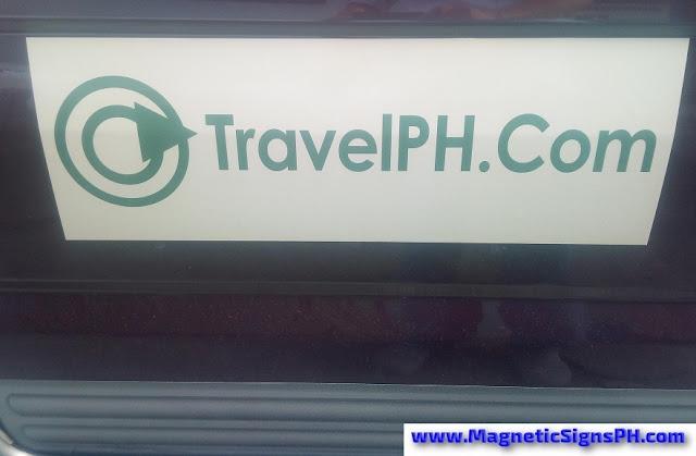 TravelPH.com Logo Car Magnet