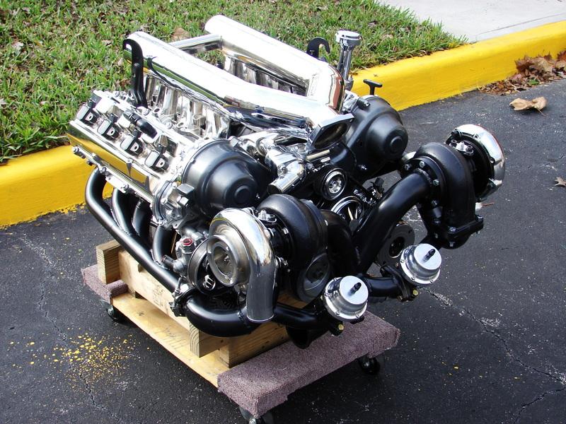 twin turbo engine diagram