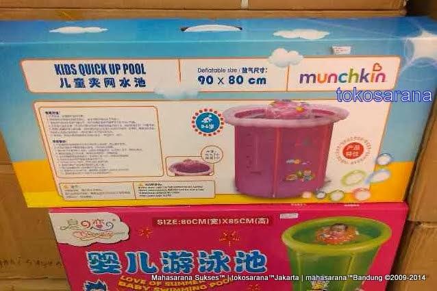 Kolam Renang Bayi Munchkin 90cm x 80cm