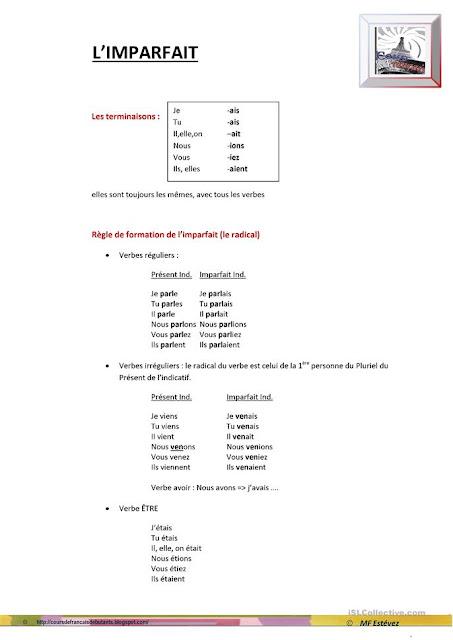 Imparfait - gramatyka 5 - Francuski przy kawie