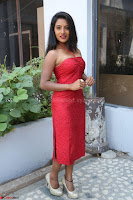 Mamatha sizzles in red Gown at Katrina Karina Madhyalo Kamal Haasan movie Launch event 229.JPG