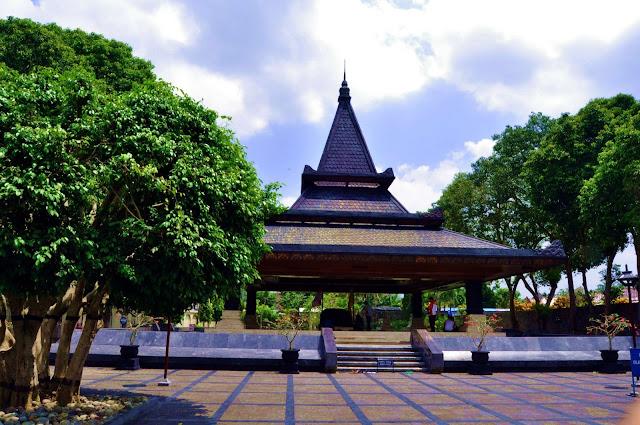 Foto tempat makam Bung Karno