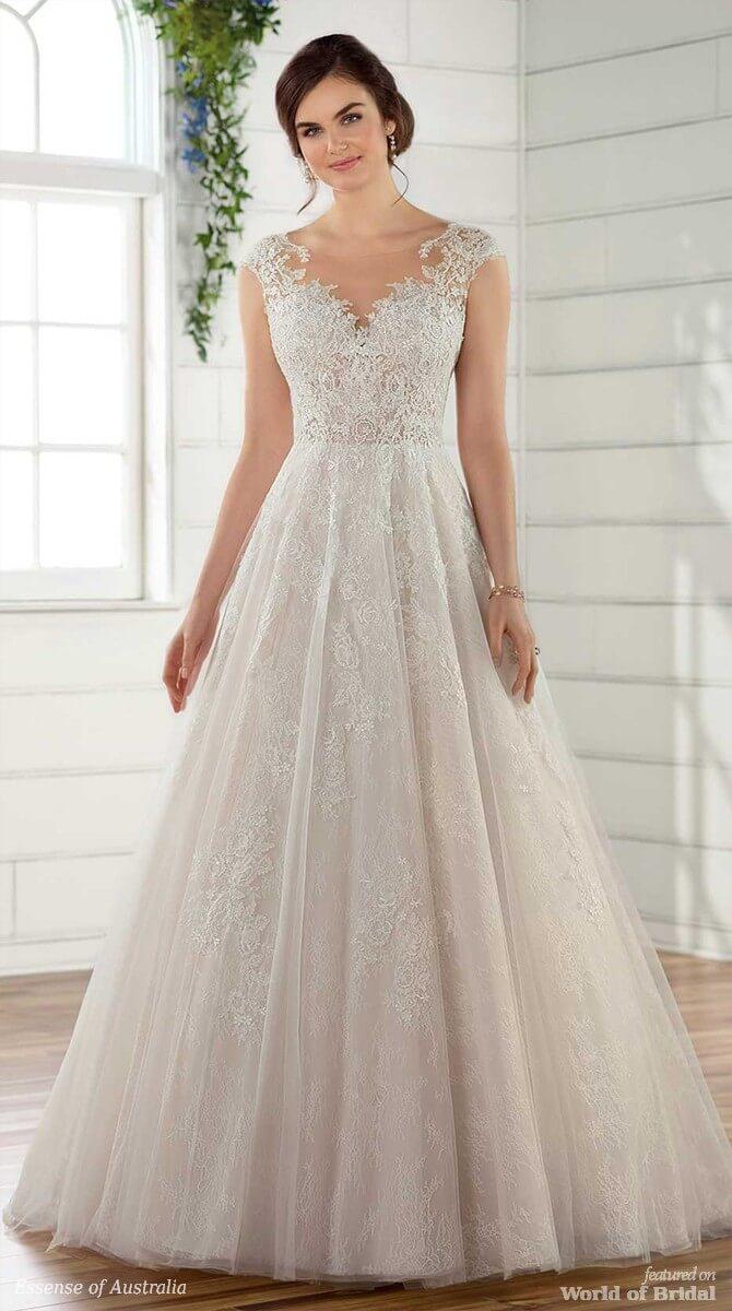 9b4decaa5939 Essense of Australia Spring 2018 Wedding Dresses - World of Bridal