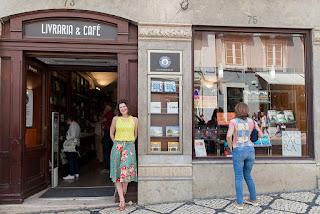 entrada da livraria Bertrand