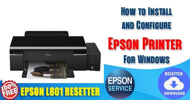 Epson L801 Adjustment Program