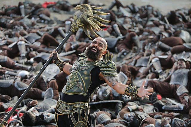Karthy as Raj Nayak in Kaashmora (2016)   Kaashmora (2016) is an Indian Tamil language supernatural comedy film written and directed by Gokul in 2016.     Kaashmora (2016) Casts and Crew and Released date:     The film is released on 28th October, 2016.   Casts:   Karthy as Raj Nayak, Kaashmora, Mystery Man.   Nayanthara as Rathna maharani.   Sri Dyvya as Yamini   Jangiri Madhumitha as Kaashmora's sister.   Pattimandram Raja as Yamini's father   Vivek as Kaashmora's father.   Sharath Lohitashwa as Minister   Madhusudhan Rao as Swamy   Saravana Subbiah as show host   Siddharth Vipin as    Kaashmora (2016) Tamil Film Poster   Crews:   Directed by: Gokul   Produced by: S R Prakashbabu and S R Prabhu   Written by: Gokul, John Mahendran (Dialogue), R. Murugesan   Screenplay by: Gokul   Story Written by: Gokul   Music composed by: Santhosh Narayanan   Cinematography by: Om Prakash   Film edited by: V. J. Sabu Joseph   Running Time: 164 minutes  Country: India   Language: Tamil ( Hindi dubbed)   Budget: ₹60 crore   Box Office: ₹100 crore       Kaashmora (2016) is a supernatural film. This Tamil film is made with a huge amount of Graphics (VFX).